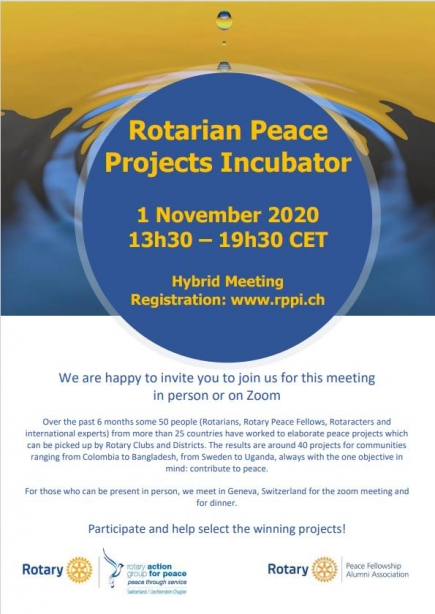 Rotarian Peace Projects Incubator_flyer